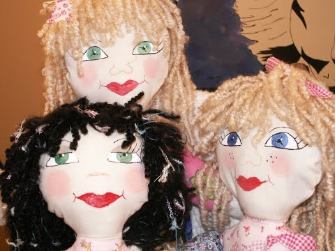Easy Steps to Making Rag Doll Hair