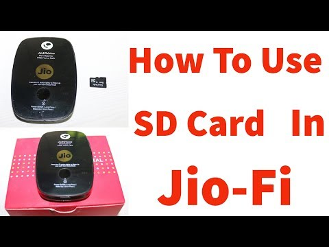 How To Access SD Card Using Jio-Fi Hotspot Device In Pc & Mobile