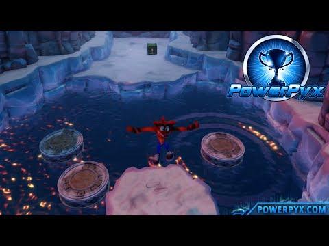 Crash Bandicoot 2: Cortex Strikes Back - Bear Down Secret Exit (Island Hopping Trophy Guide)