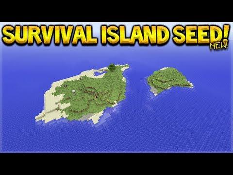 AMAZING SURVIVAL ISLAND SEED! Minecraft Console Edition - TU55 Survival Island SEED