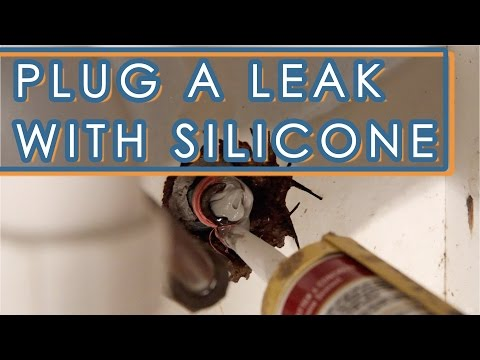 How To Fix A Leaking Faucet With Silicone Sealant
