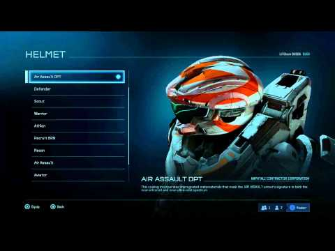 Halo 5 Beta - All Armor (Up to SR40)