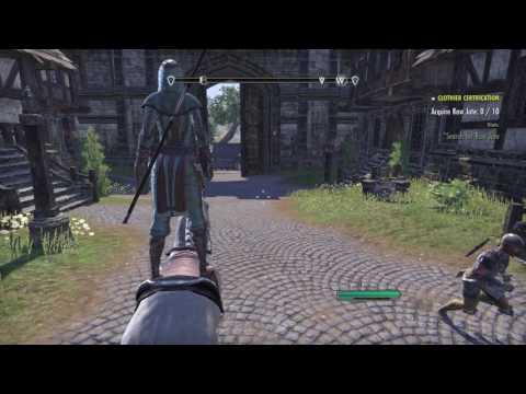 ESO horse glitch