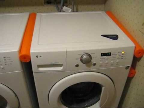 Simple LG Washer Vibration Fix