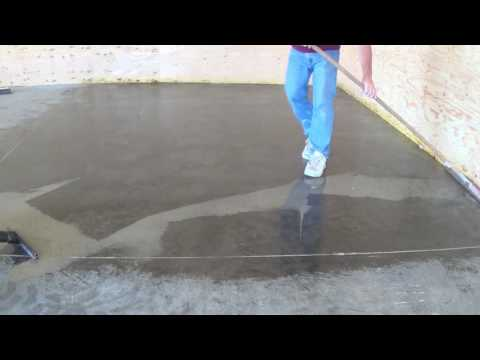 Cleaning concrete and removing tire marks using a concrete sealer instead of chemicals and water.