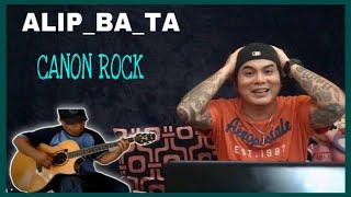 ALIP_BA_TA | CANON ROCK | FINGERSTYLE COVER | REACTION