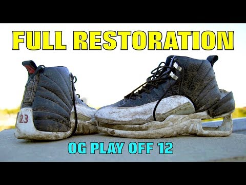 OG PLAYOFF 12 FULL RESTORATION!!