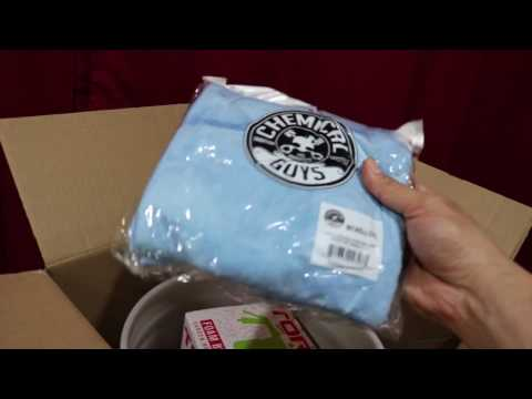 Chemical Guys Costco Kit Unboxing