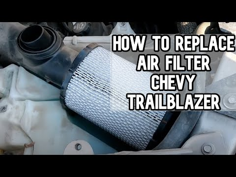 How to change the air filter | Chevy Trailblazer DIY video | #diy #filter