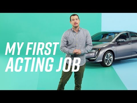 My First Acting Job Introducing the New Honda Clarity Plug-In Hybrid