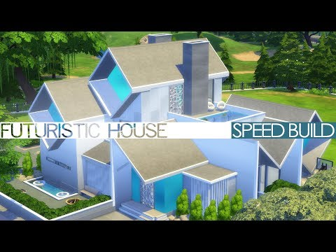 The Sims 4 Speed Build - FUTURISTIC HOUSE