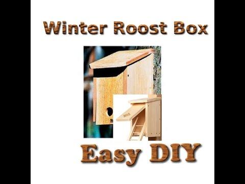Winter Roost box - DIY