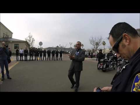 Officer Reyna retires after 24 years at Tracy Police Department