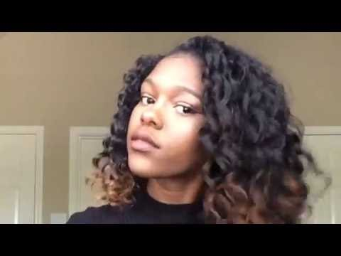 How to get heat less curls/waves  overnight | Natural hair