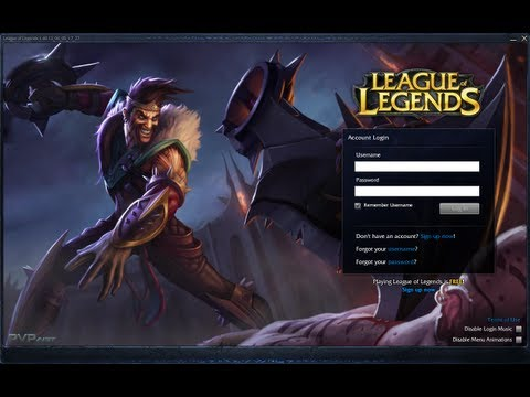 How to Change Your Login Screen on League of Legends