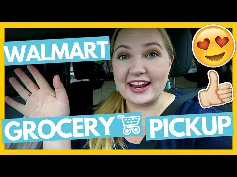 First Walmart Grocery Pickup Experience and Review 😍Full Time RV Family