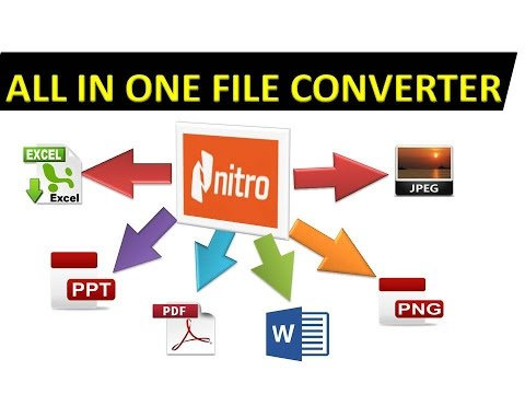 All in one file converter pdf to word - pdf to JPG - word to png in hindi