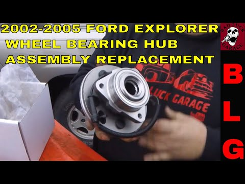 2002-2005 FORD EXPLORER WHEEL BEARING HUB ASSEMBLY REPLACEMENT