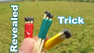 Magic Trick with Matches Secret Revealed- Easy Tutorials