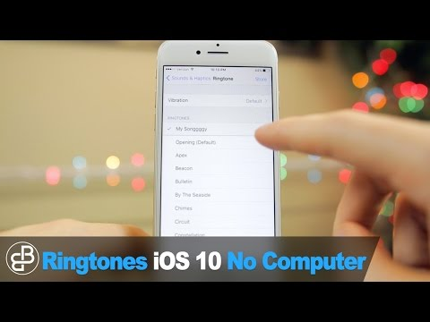 Make Free iPhone Ringtones: Set Any Song as Ringtone/Text Sound (NO COMPUTER - iOS 11)