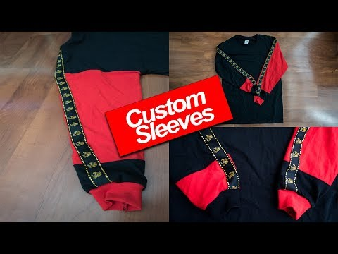 How I customized my long sleeves