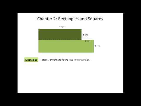 How to Find the Area of a Composite Figure (Rectangles and Squares)