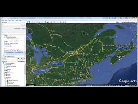 How to Create a Simple Google Earth Tour