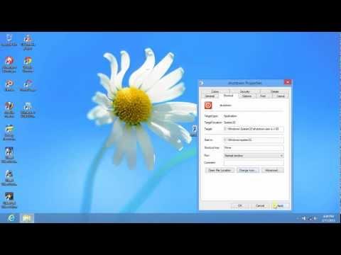 Shortcut to turn off computer. It works for Windows XP, Vista, 7 dan Windows 8