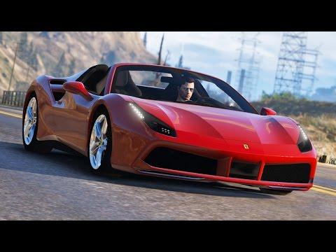 GTA V Quick Drive E05 - Ferrari 488 Spider