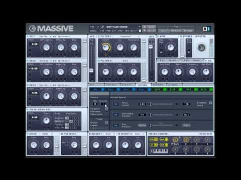 ▶ How to Make a Dubstep Lead Synth A Gliding, Filthy Sound with NI Massive   YouTube   Copy