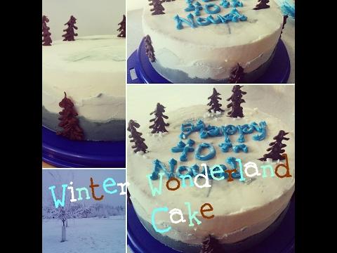 Dancey Cake - Winter Wonderland Cake