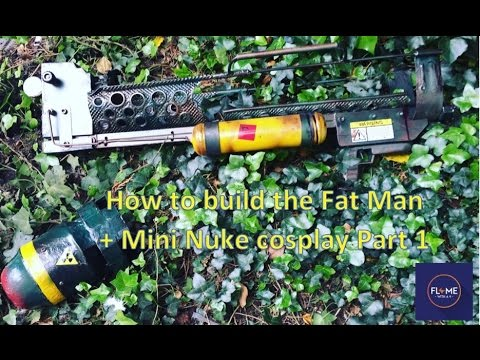 DIY Fallout 4  FAT MAN - Cosplay- Part 1