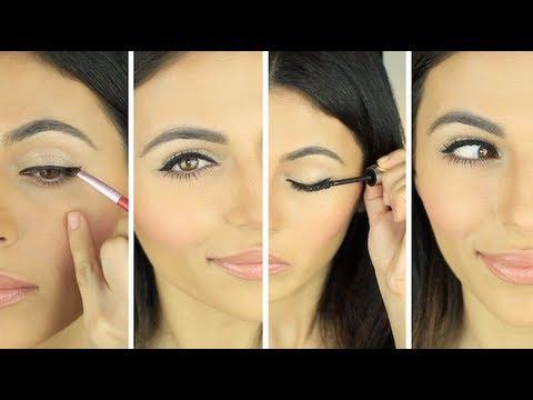 How To Apply Eyeliner Simple Eyeliner Look Eye Makeup Tutorial Teni P