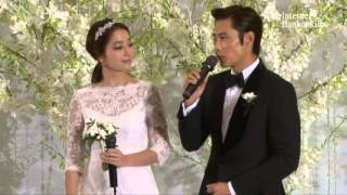 Lee Min Jung and Lee Byung Hun Press Conference