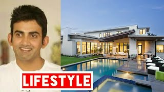 Gautam Gambhir Net Worth, Salary, House, Car, Family and Luxurious Lifestyle | 2017