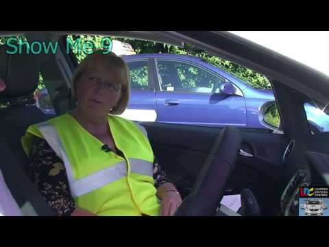 Driving Test - Show me Q9 How would you clean the windscreen?