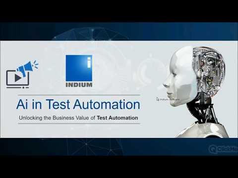 Webinar – Ai in Test Automation