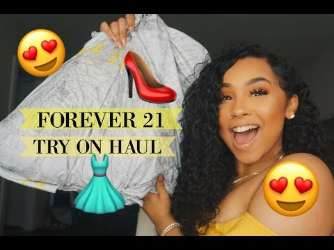 FOREVER 21 UNBOXING/ TRY ON HAUL (OOTD STYLE INSPO) | TheAnayal8ter