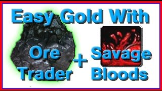 Easy Gold With The Ore Trader And Savage Bloods (warlords Of Draenor Patch 6.1)