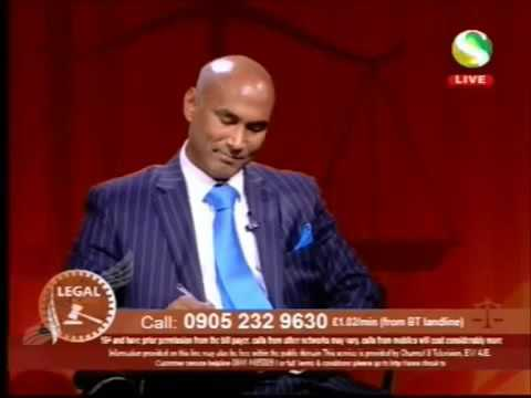 Ashuk Miah legal advice live sky tv