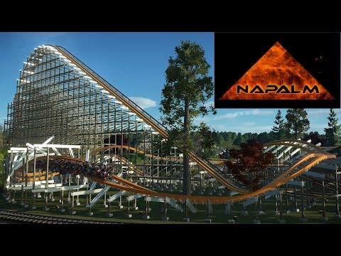 NAPALM (RMC Cannonball Conversion) Full Video - Planet Coaster