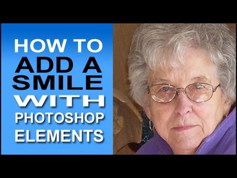 How To Add A Smile With Photoshop Elements