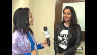 Sania Mirza exclusively talks to ARY News