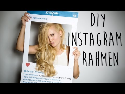 DIY Instagram Rahmen - Photo Booth Party