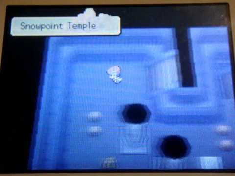 Pokemon Platinum: Regigigas