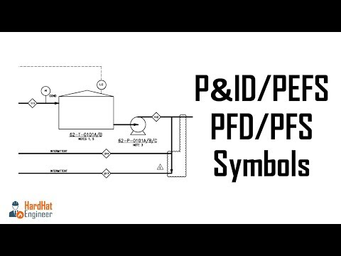 P&ID Symbols Drawing and Legend List