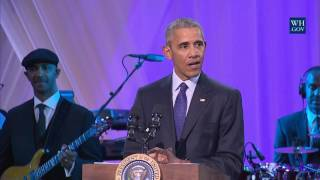 """President Obama Speaks at BET's """"Love and Happiness: A Musical Experience"""""""