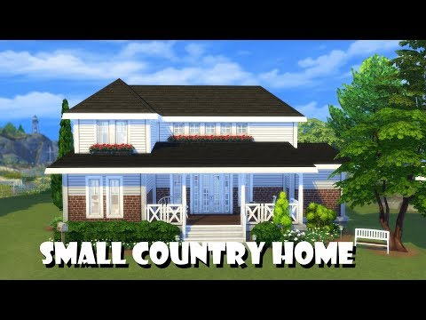 Sims 4 | House Building | Small Country Home
