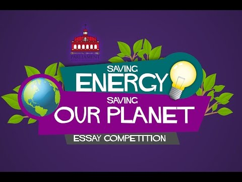 Essay Competition: Saving Energy, Saving Our Planet