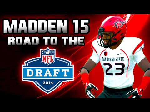 Madden NFL 15 Road To The Draft ft. CB Marcus Branch